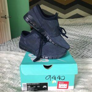 NWT Nike SB Janoski Air Max L obsidian Shoes Sz 12